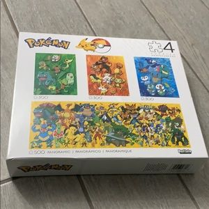 New Pokémon Puzzles 4 in 1 Multipack